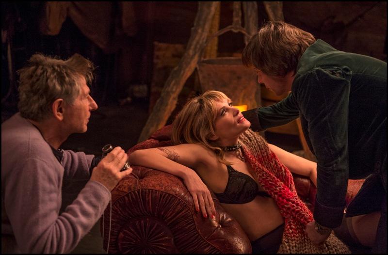 """De pertinho: Polanski dirige a dupla de atores em """"A Pele de Vênus"""". Nesse caso, possivelmente a arte imita a vida (Foto: Divulgação)"""