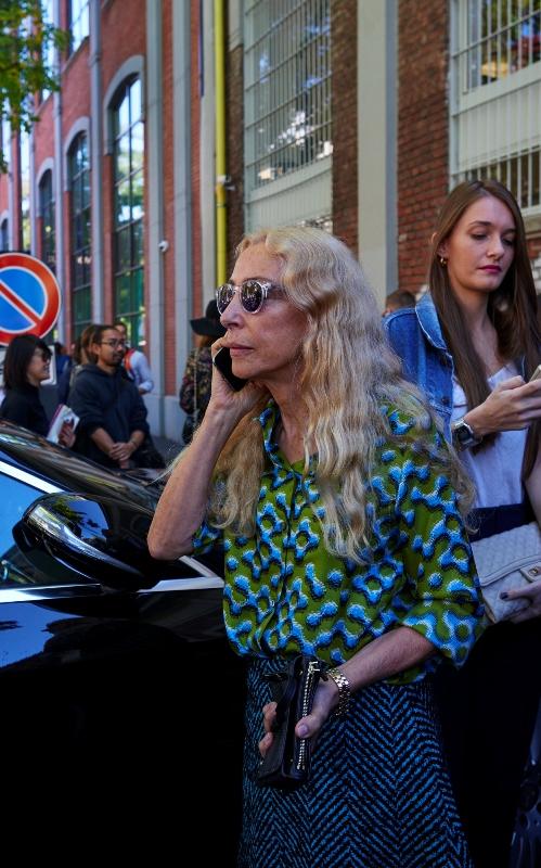 Semana de Moda de Milão 2016 Franca Sozzani Vogue Italia(1)