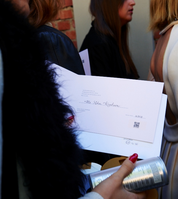 Semana de Moda de Milão 2016 Invitation!(1)