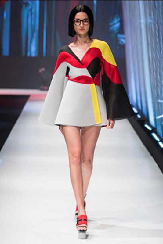 Natália Manzini: colorido vívido da nova designer ganha o impulso da Cedro Têxtil (Foto: Divulgação)