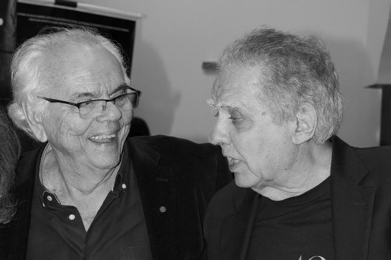 Zelito Viana e Luiz Carlos Barreto: (Foto: Ana Colla)