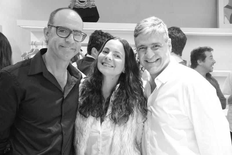 Trinca do sorrriso: Vicente de Paulo, Isabela Menezes e Toni Oliveira