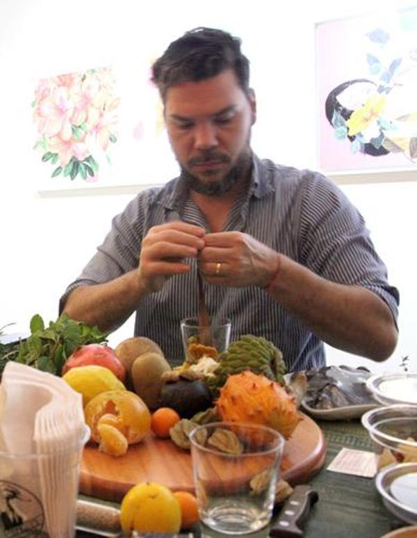 Pedro Artagão no laboratório criativo Jeffrey