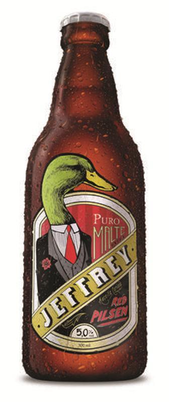 Red Pilsen, o novo rótulo da Jeffrey