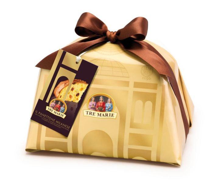 A Cosa Nostra Del ostenta com 1kg e 120g do panetone Tre Marie Milanese Incartato (R$229)