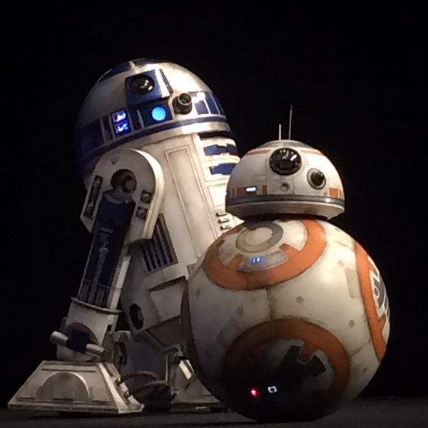 Star Wars o despertar da força R2D2 e BB8 final