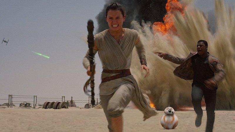 Star Wars o despertar da força novos final