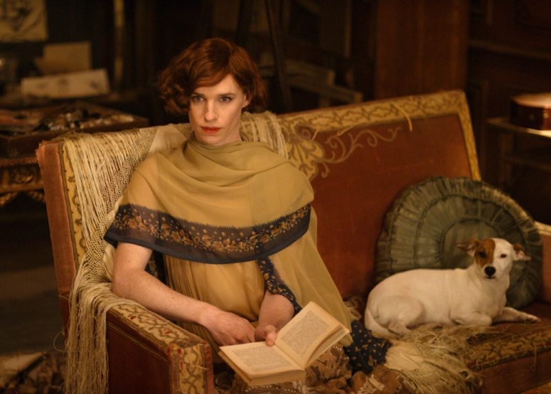 Eddie Redmayne stars as Lili Elbe, in Tom Hooper's THE DANISH GIRL, released by Focus Features. Credit: Focus Features