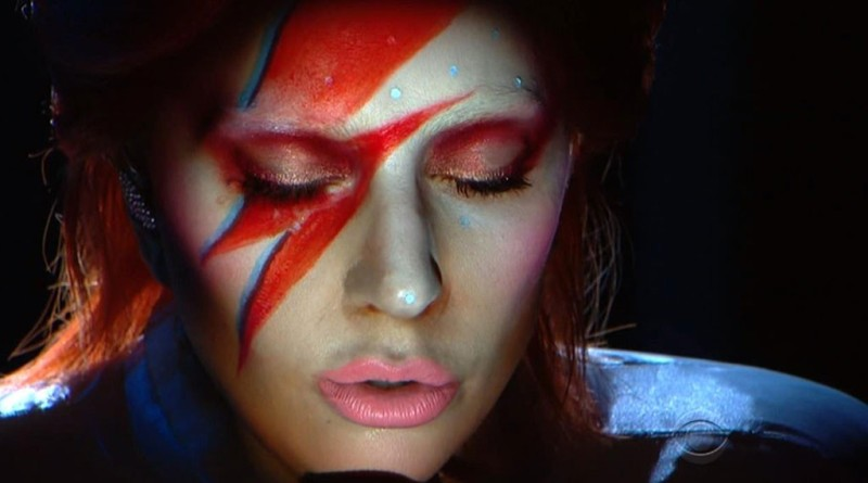 lady gaga bowie grammy 2016 final