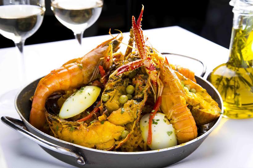 evandro´s - Paella de frutos do mar com lagosta - Virna Santolia