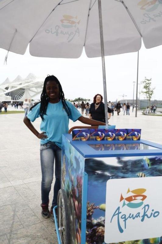 Enquete Rio Moda Rio ver17 promotora aquário final
