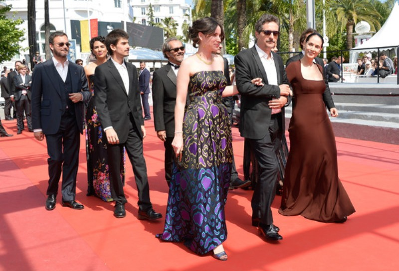 Aquarius Sonia Braga red carpet Cannes final