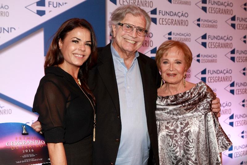 4ª edição Prêmio Cesgranrio de Teatro 2017 ANDREA AVANCINI TARCISIO MEIRA E GLORIA MENEZES IMG_8700 final